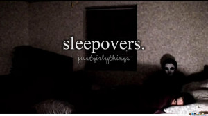 Just Girly Things: Sleepovers