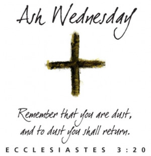 Ash Wednesday 2013:Rescued from the Rubble [1]