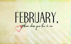 Hello February ! ♥