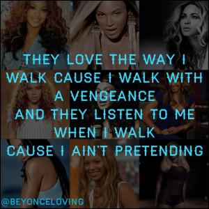 Beyonce grown woman lyrics