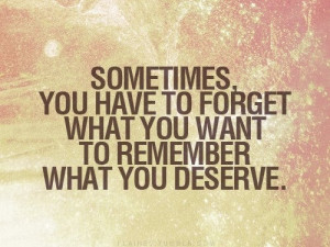 And you deserve better.
