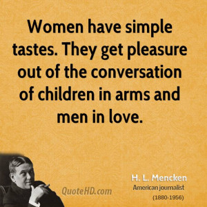 Mencken Women Quotes Quotehd