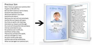 Angel baby poems. Memorial meeting