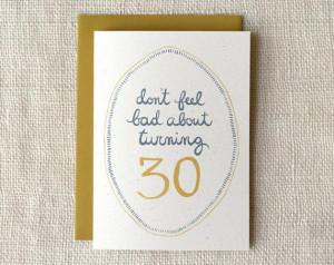 turning 30!