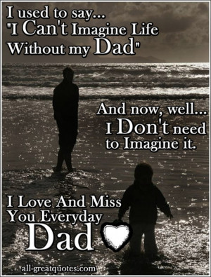 fathers day I used to say,