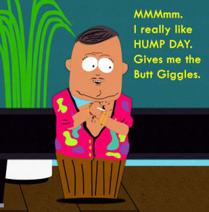 Humping around on Hump Day!
