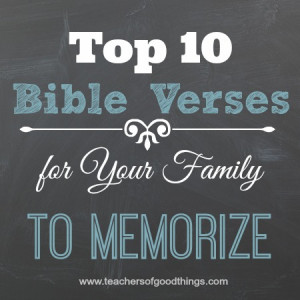 bible quotes about family love