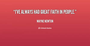 Faith In People Quotes