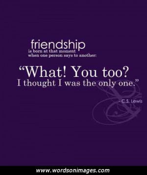 New found friendship quotes