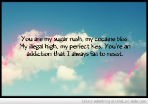 Love Cocaine Bliss Happiness