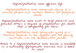 Hospice Philosophy