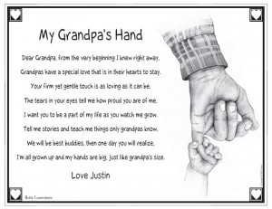 poems for grandfathers