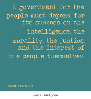 How to make poster quotes about success - A government for the people ...