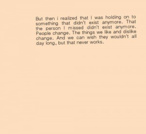 Love Drifted Apart Quotes