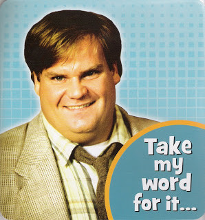 Chris Farley on an episode of