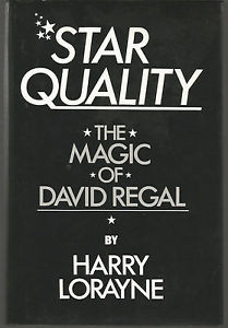 Quality The Magic of David Regal by Harry Lorayne 1987 First Edition
