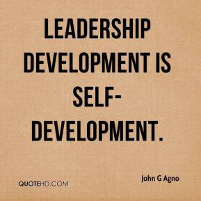 Leadership development Quotes