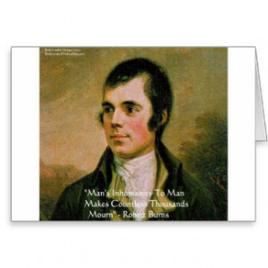 Robert Burns Famous Quote Cards