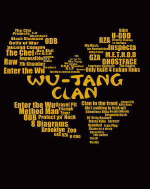 wu tang wu tang clan odb RZA method raekwon the chef