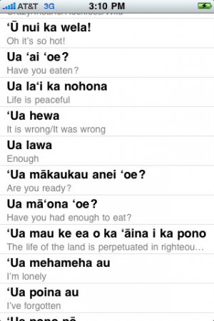 Tags : hawaiian , phrases , hawaiian phrases