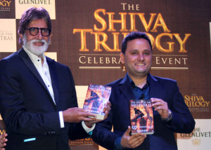 ... and the megastar marvelled at author Amish Tripathi's writing skills