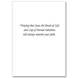 First Holy Communion Card Sayings