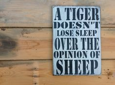 sheep. Quotes Tattoo, Tigers Quotes, Losing Sleep, Motivational Quotes ...