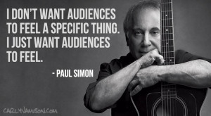 : Paul Stanley Duly Quoted: Keith Richards Just Watched: Paul Simon ...