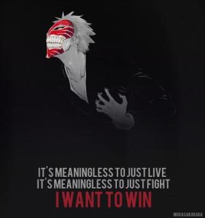 ... Bleach Character: Kurosaki Ichigo maybe a quote from Kurosaki Ichigo