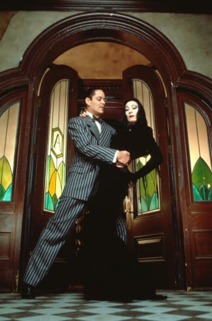 Raul Julia Raul Julia and Anjelica Huston