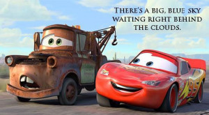 Disney Quote Cars:
