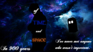 Eleventh Doctor Quote Wallpaper by LilMusicLuva