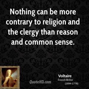 Voltaire Religion Quotes