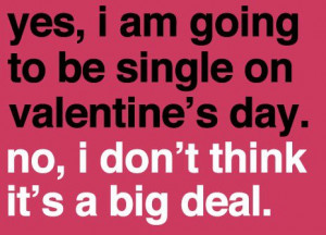 valentines day funny quotes single