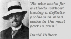 David hilbert famous quotes 2