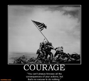 Courage World War Two Soilder...