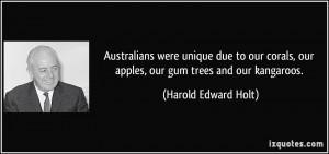 More Harold Edward Holt Quotes
