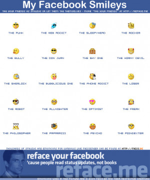 How to effect Smileys on Facebook
