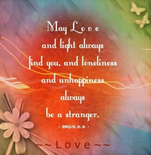 Love and light quote via ~~Love~~ at www.Facebook.com ...