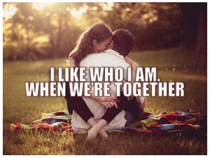 couple, hug, love, photography, quotes, smile, together, who i am