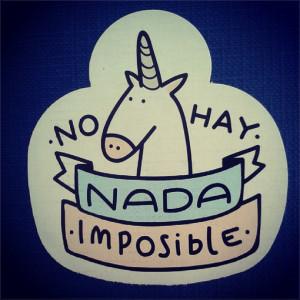 drawing, funny, goal, quotes, spanish, unicorn, motivanting