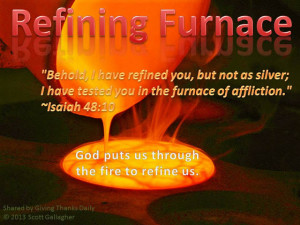 Provoking Thought - Refining Furnace by Scott Gallagher
