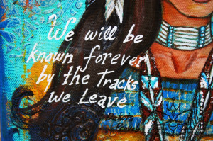 Native American Quotes About Family Native american woman.