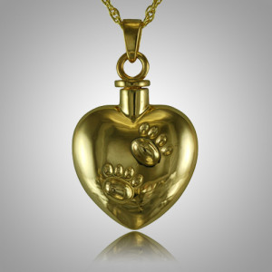 Pet Cremation Jewelry Heart