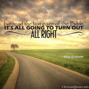 Billy Graham Quote -