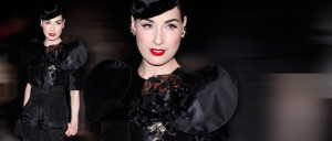 month in Dita Von Teese's shoes
