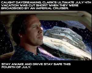 The Ultimate Vacation is cut short. Clark Griswold
