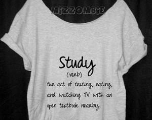 Funny Shirts For Tweens Homework shirt, off the