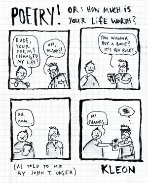 True story, as told to me by John T. Unger during our Art Heroes ...