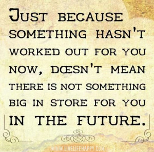 Look forward to the future!